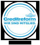 Creditreform - Wir sind Mitglied